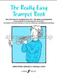 The Really Easy Trumpet Book (Trumpet & Piano)