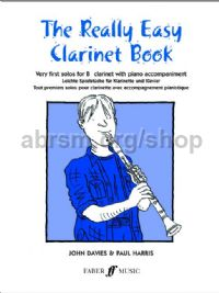 The Really Easy Clarinet Book (Clarinet & Piano)