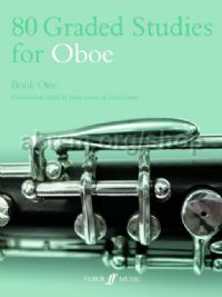 80 Graded Studies for Oboe, Book I