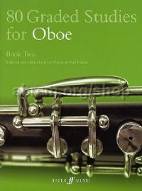80 Graded Studies for Oboe, Book II