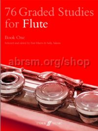 76 Graded Studies for Flute, Book I