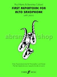 First Repertoire for Alto Saxophone (Alto Saxophone & Piano)