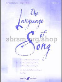 The Language of Song - Intermediate (High Voice & Piano)