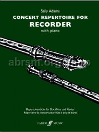 Concert Repertoire for Descant Recorder (Descant Recorder & Piano)