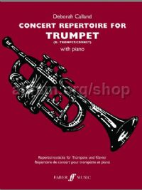 Concert Repertoire for Trumpet (Trumpet & Piano)