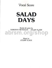 Salad Days (Voice & Piano)