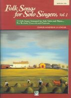 Folk Songs for Solo Singers 1 Medium/Low (Book Only)