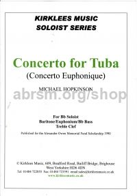Concerto for Tuba (Concerto Euphonique) with piano accompaniment (Eb Treble Clef)