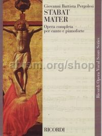 Stabat Mater - Vocal Score (Softcover)