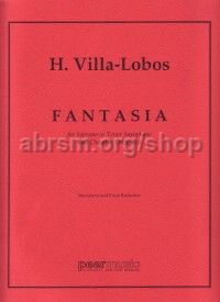 Fantasia for soprano or tenor saxophone
