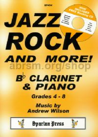 Jazz Rock & More! Clarinet & Piano (Book & CD)