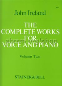 Complete Works for Voice & Piano Vol. 2