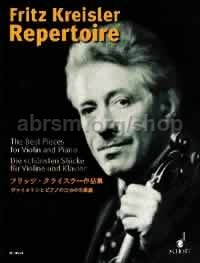 Repertoire Best Pieces For Violin/pf