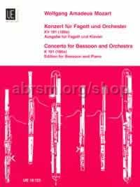 Concerto in Bb Major, K 191 (Bassoon & Piano)