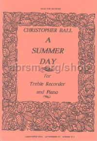 A Summer Day for Treble Recorder