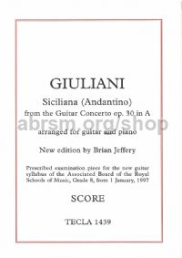 Siciliana (andantino) from Concerto Op. 30