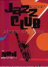 Jazz Club for Alto Saxophone Grades 1-2 (Book & CD)