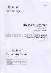 Dream Song Unison Hely Hutchinson (oup Archive)