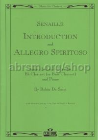 Introduction and Allegro Spiritoso for Clarinet or Bassoon