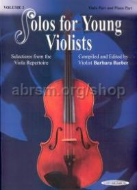 Solos for Young Violists, Vol. 1