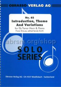 Introduction Theme & Variations Horn (Eb/F edition)