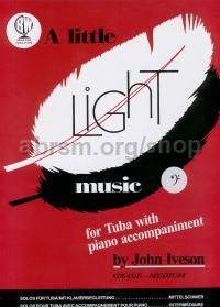 A Little Light Music for Tuba (bass clef)