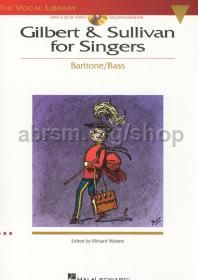 Gilbert & Sullivan for Singers Baritone/Bass (Book & CD)