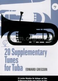 20 Supplementary Tunes for Tuba (Bass Clef)