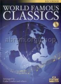World Famous Classics Recorder (Book & CD)