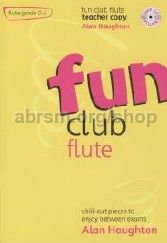 Fun Club Flute Grade 0-1 Teacher (Book & CD)