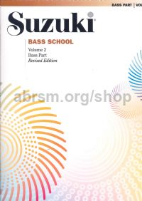 Suzuki Bass School Vol. 2 Double Bass Part (Revised Edition)