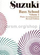 Suzuki Bass School Vol. 1 Piano Accompaniment (Revised Edition)