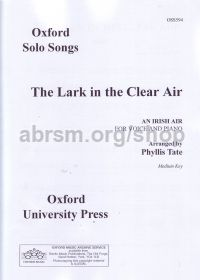 Lark In The Clear Air (key: Ab) high Tate Unison