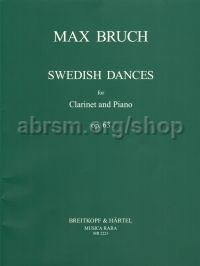 Swedish Dances Op. 63 Clarinet & Piano
