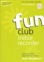 Fun Club Treble Recorder Grade 2-3 (Book & CD)