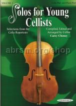 Solos for Young Cellists, Vol. 3