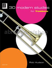 30 Modern Studies for Trombone (Bass Clef)