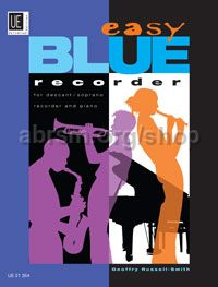 Easy Blue Recorder (Descant Recorder & Piano)