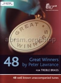 Great Winners Treble Brass (Book & CD) - Eb/F edition