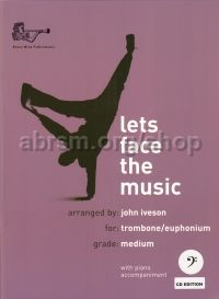 Let's Face the Music for Trombone (bass clef) (with CD)