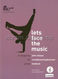 Let's Face the Music for Trombone (treble clef) (with CD)