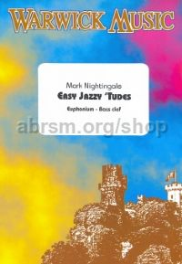 Easy Jazzy 'Tudes for Euphonium (bass clef)