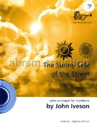 Sunny Side of the Street for Trombone (bass clef)