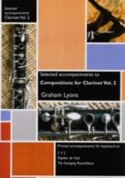 Compositions for Clarinet vol.2 (selected piano accompaniments)