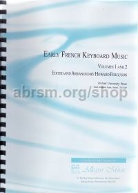 Early French Keyboard Music (archive paperback)