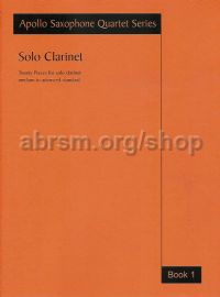 Solo Clarinet Book 1
