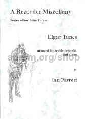 Elgar Tunes, arranged for treble recorder and piano