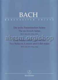 6 French Suites, BWV 812-817; 814a 815a