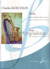 Études for Alto Saxophone and Piano