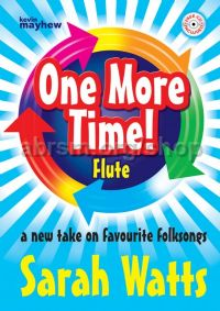 One More Time flute Bk/CD